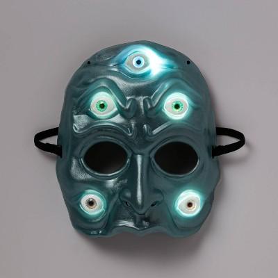 Adult Light Up Clairvoyant Halloween Mask - Hyde & EEK! Boutique™