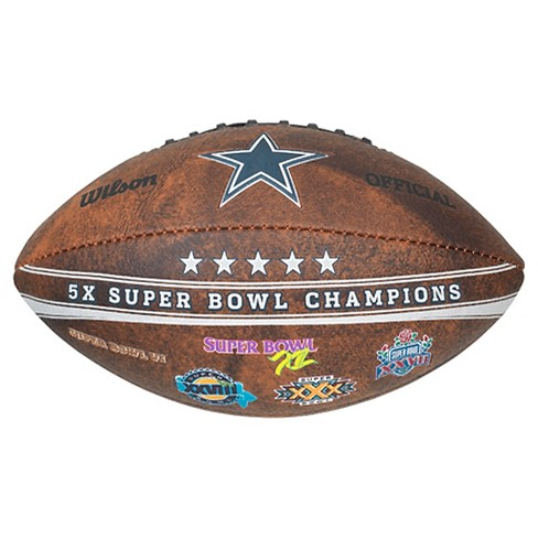NFL - Commemorative Championship 9 Inch Football Dallas Cowboys - image 1 of 2