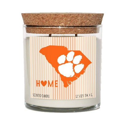 NCAA Clemson Tigers Home State Candle
