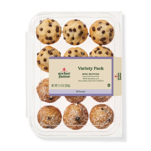 Mini Muffin Variety Pack - 12ct - Archer Farms™ - image 1 of 1
