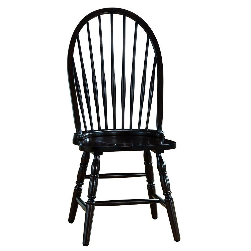 Image of Garner Windsor Chair Black - Carolina Chair and Table