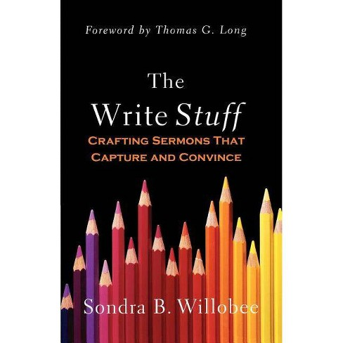 The Write Stuff - by  Sondra B Willobee (Paperback) - image 1 of 1