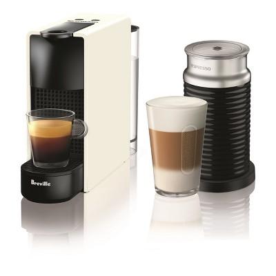 Nespresso Essenza Mini White Bundle by Breville