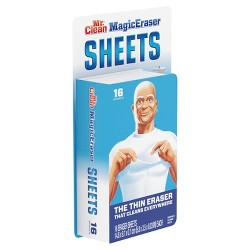Mr Clean Magic Eraser Sheets Multi Purpose Cleaner - 16ct