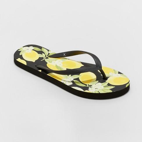 cd0702e552f Women s Sara Lemon Flip Flops - Shade   Shore™   Target