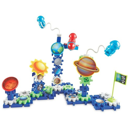 Learning Resources Gears Gears Gears! Spinning Space Gears, 80 Piece Set - image 1 of 4
