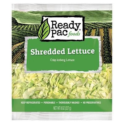 Ready Pac Foods Shredded Iceberg Lettuce - 8oz
