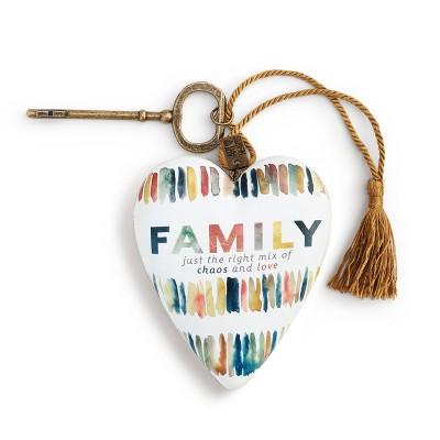 DEMDACO Family Chaos Art Heart Multi