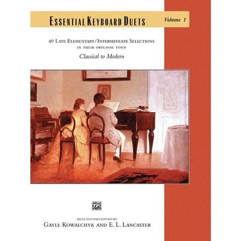 Alfred Essential Keyboard Duets, Volume 1 Late Elementary / Intermediate - image 1 of 1
