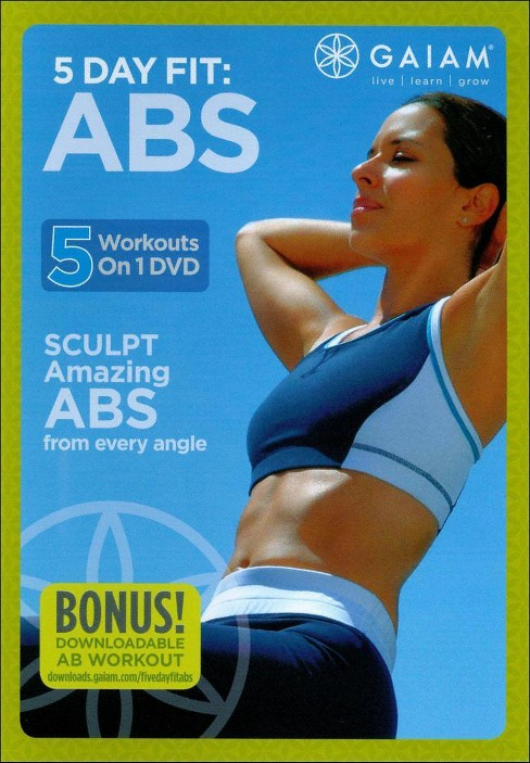Five day fit abs (DVD) - image 1 of 1