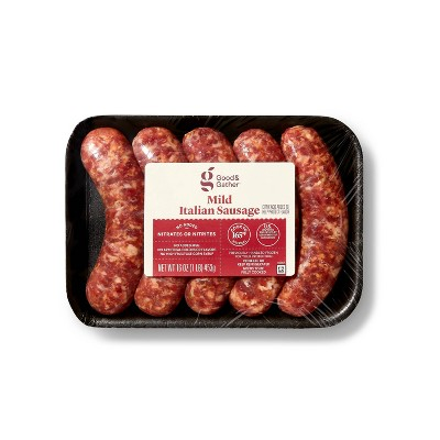 Mild Italian Sausage - 16oz/5ct - Good & Gather™