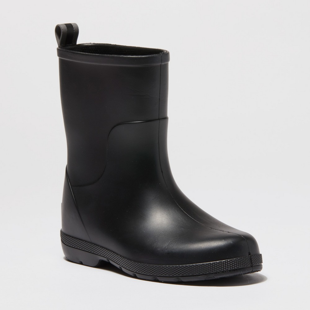 Image of Kids' Totes Cirrus Charley Rain Boots - Black 13-1, Kids Unisex
