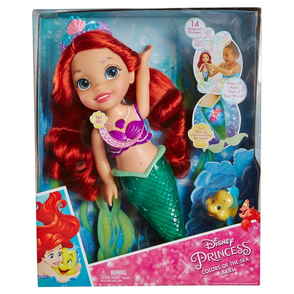 Disney Princess Colors of the Sea Ariel