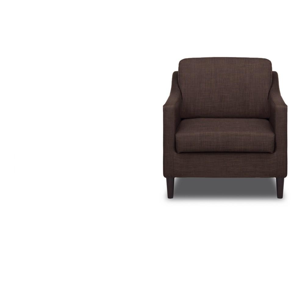 Decker Chair Coffee (Brown) - Sofas 2 Go