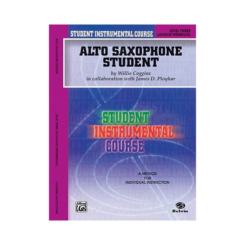 Alfred Student Instrumental Course Alto Saxophone Student Level 3 Book - image 1 of 1