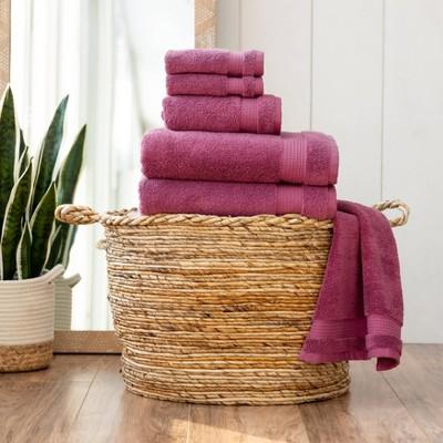 6pc Noah Bath Towel Set - Martha Stewart