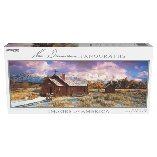 Pressman Images Of America: Divine Light Panoramic Puzzle 504pc image number null