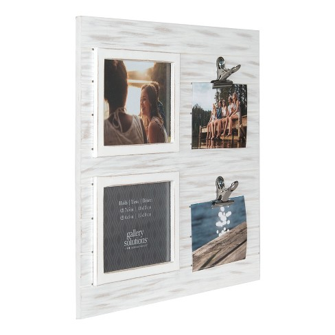 Multiple Image 16X18 Whitewash Collage Frame Clip - Gallery ...