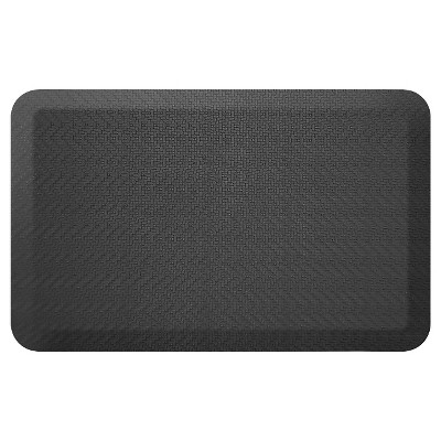 Newlife By Gelpro Designer Comfort Kitchen Mat - Sisal Black - 20X32