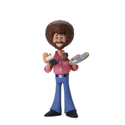 "Bob Ross - 6"" Scale Action Figure - Toony Classics Bob Ross with Peapod"
