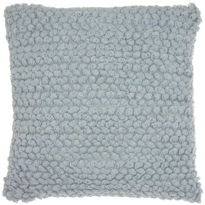 Thin Group Loops Oversize Square Throw Pillow Blue - Mina Victory