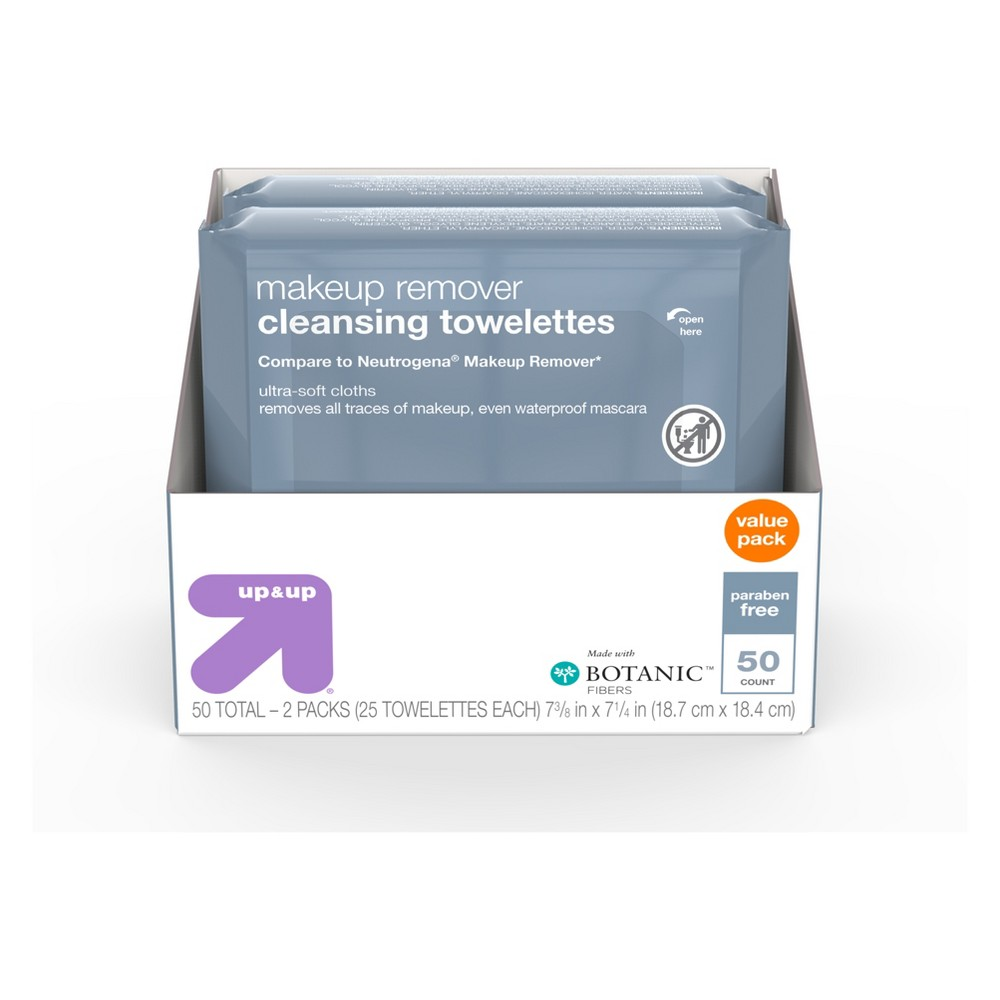 Image of Basic Facial Cleansing Wipes - 50ct - Up&Up