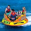 WOW Watersports 1-3 Rider UTO Excalibur Boating Lake Towable with Secure Cockpit Seating and Hover Bottom Design - image 3 of 4