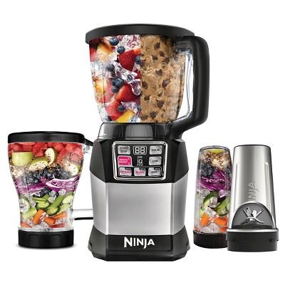 Nutri Ninja Auto-iQ Compact System Blender/Processor BL491