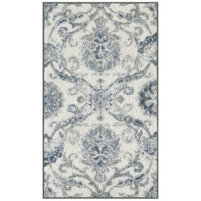 Olympia Rug Gray/Blue - Maples
