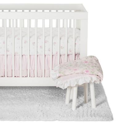 Crib Bedding Set Duchess - Simply Shabby Chic® Nursery Pink
