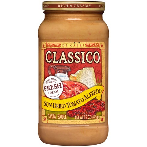 Classico Signature Recipes Sun-Dried Tomato Alfredo Pasta Sauce 15 oz - image 1 of 1