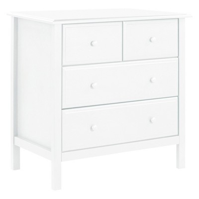 DaVinci Autumn 4-Drawer Dresser - White