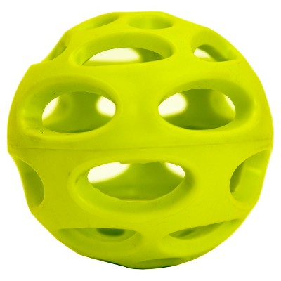 Hollow Ball Pet Toy - 3.25'' - Neon Green - Boots & Barkley™