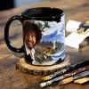 Surreal Entertainment Bob Ross Exclusive Color Change Ceramic Coffee Mug 12 ounces - image 5 of 6