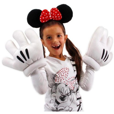 Disney Minnie Ears & Gloves Costume Accessory Set