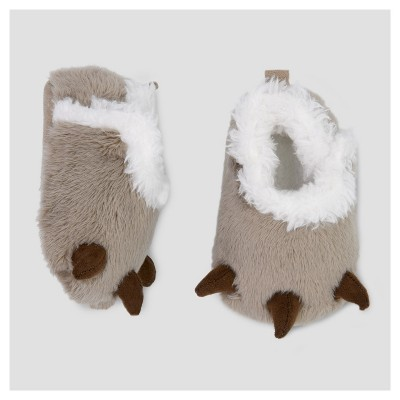 Baby Boys' Bear Claw Slipper - Just One You™ Made by Carter's® Tan NB