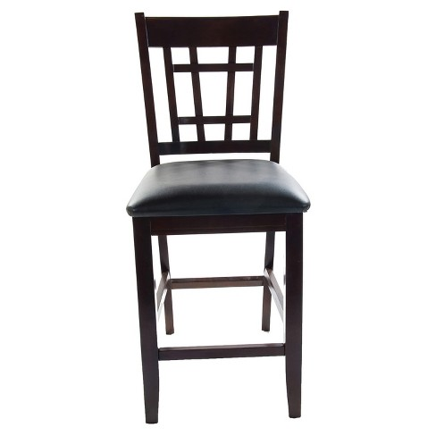 Charleston Counter Stools Espresso Set Of 2 Home Source Industries Target