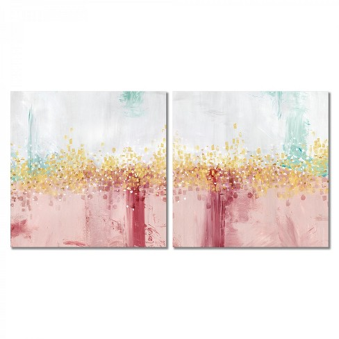 Americanflat Mustn T Hurry By Pi Creative Art 2 Piece Canvas Print Set Target