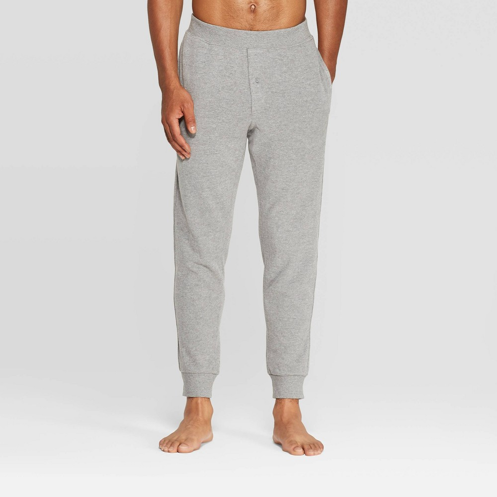 Men 39 S Knit Jogger Pajama Pants Goodfellow 38 Co 8482 Thundering Gray 2xl