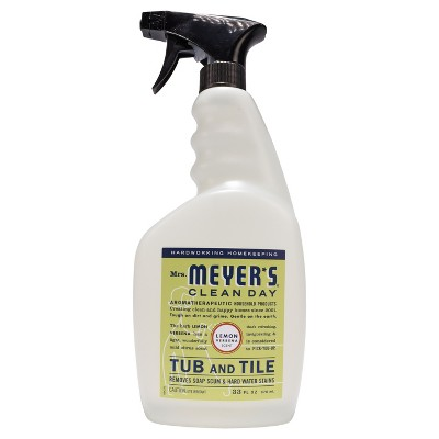 Mrs. Meyer's® Lemon Verbena Tub and Tile Spray Cleaner - 33 fl oz