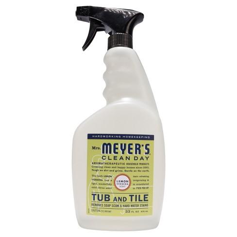 Mrs Meyer S 174 Lemon Verbena Tub And Tile Spray Cleaner