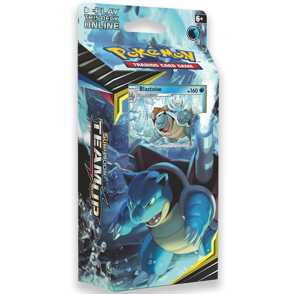 Pokemon Trading Card Game Sun & Moon Team Up S9 Theme Deck Featuring Blastoise