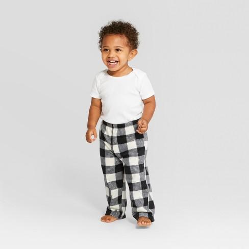 Toddler Holiday Buffalo Check Pajama Pants - Wondershop™ Black 2T ... 643cc966d