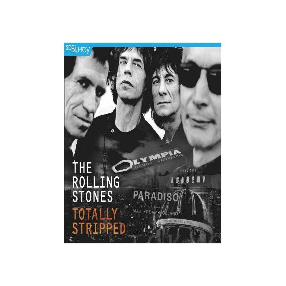 Rolling Stones Totally Stripped Blu Ray 2016