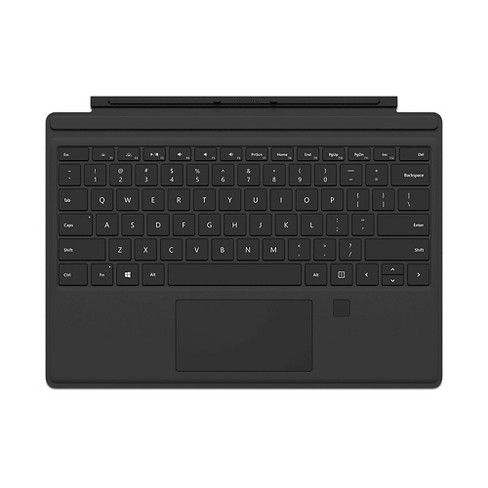 Microsoft Surface Pro 4 Type Cover with Fingerprint ID - Gray - image 1 of 5