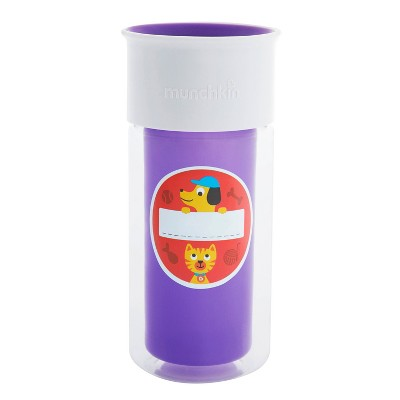 Munchkin My Miracle Customizable Insulated Cup - Purple