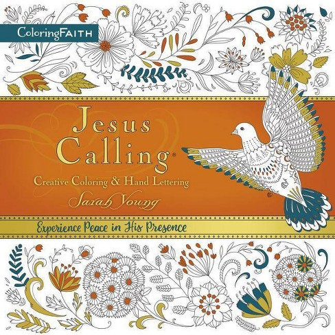 Jesus Calling Creative Coloring & Hand Lettering (Paperback) (Sarah Young) - image 1 of 1