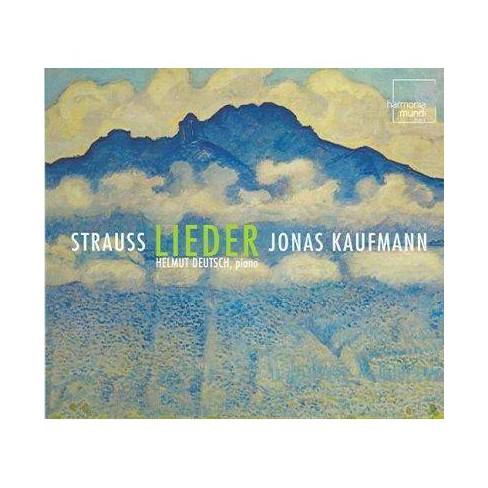 Strauss, Richard; Deutsch, Helmut [Piano]; Jonas Kaufmann - Strauss: Lieder (CD) - image 1 of 1