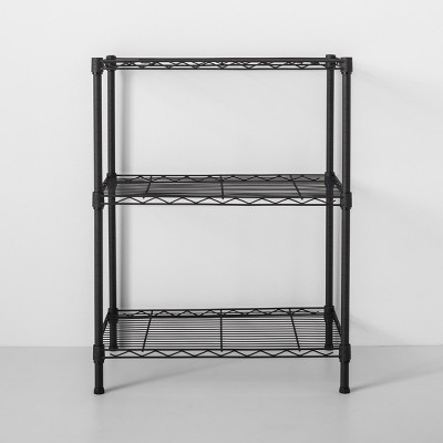 3 Tier Wire Shelf Black - Made By Design™
