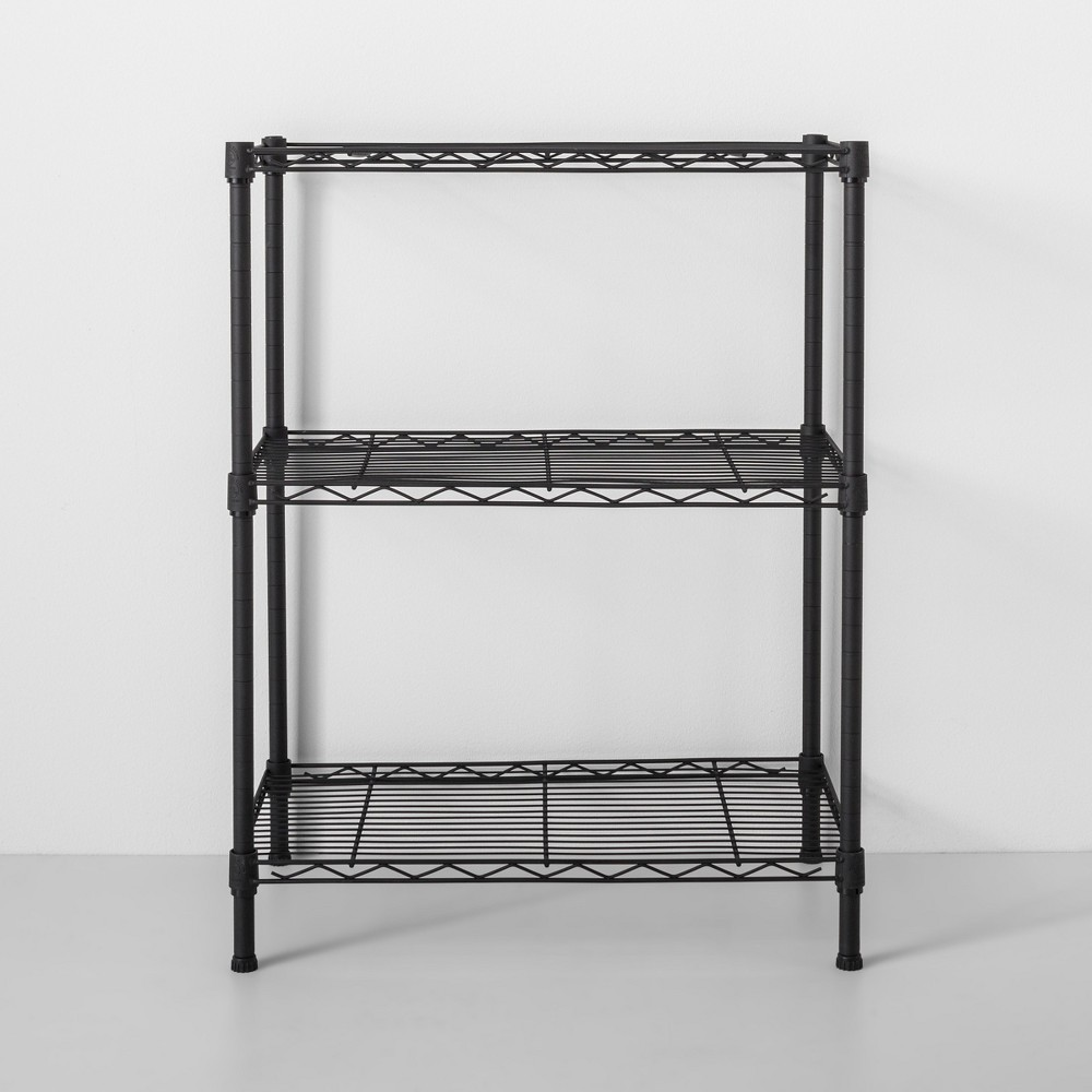 Image of 3 Tier Wire Shelf Black - Made By Design